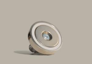 vismagneet met 130 Kg trekkracht, hele sterke magneet